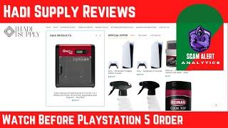 Hadi Supply Reviews | Watch Before Playstation 5 Order On Hadisupply.com
