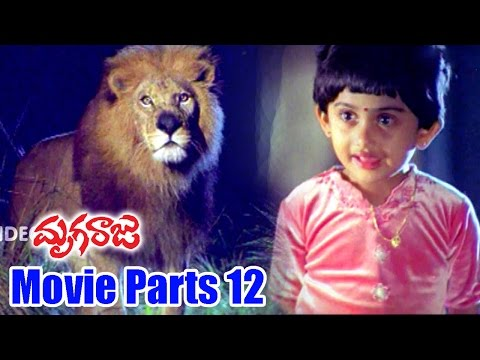 Mruga Raju Movie Parts 12/12 - Chiranjeevi, Simran, Sanghavi - Ganesh Videos