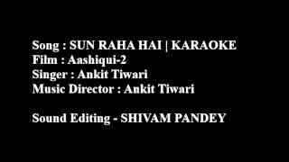 Sun Raha Hai Na Tu (Lyrics + Chords) | Instrumental Cover (Karaoke) | Aashiqui-2