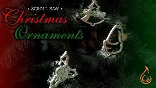 Make simple scroll saw Christmas ornaments out of plywood for your Christmas tree. Follow us on Twitter for more creative