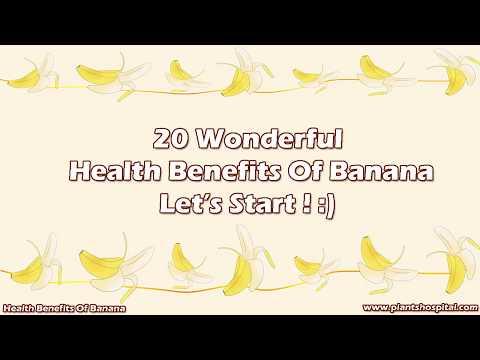 20 Wonderful Health Benefits Of Banana
