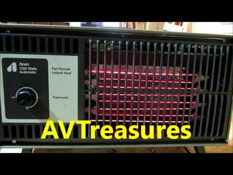 Repairing The Vintage Arvin Electric Heater Youtube