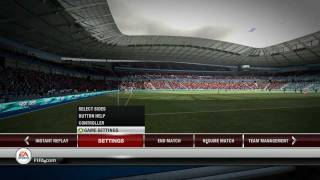 fifa 12 graphics (PC) MAX SETTINGS