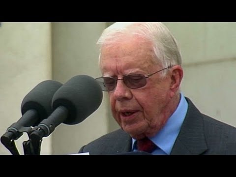 Jimmy Carter: Martin Luther King Jr. fought for all people