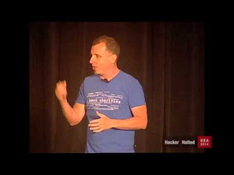 How Ethical Hackers Save the World -Johnny Long -at 2014 Hacker Halted