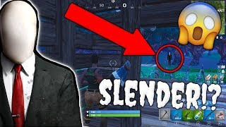 *INCREDIBILE* SLENDERMAN AVVISTATO su FORTNITE!?