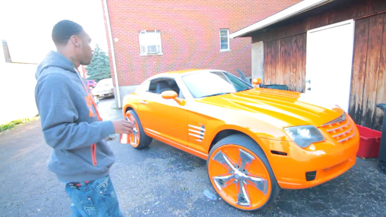 custom chrysler crossfire srt6. blackjackk shows off his new 2006 chrysler crossfire on 24u0027s davins youtube custom chrysler crossfire srt6 s