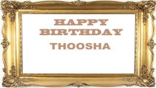 Thoosha   Birthday Postcards & Postales