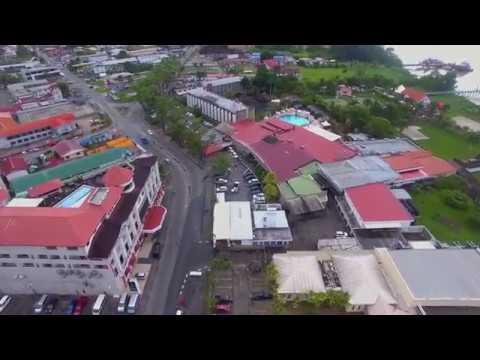 Aerial Shots Paramaribo - Music by Max Nijman