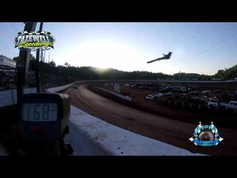 Speed Radar - 4 Cylinder Pony - Hot Laps - 6-2-17 Tazewell Speedway
