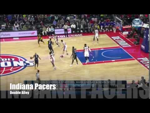Indiana Pacers   Man Offense - Double - Alley