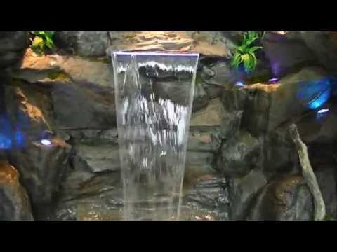 Custom Rock Waterfalls - Vancouver/Surrey info@waterfallnow.com