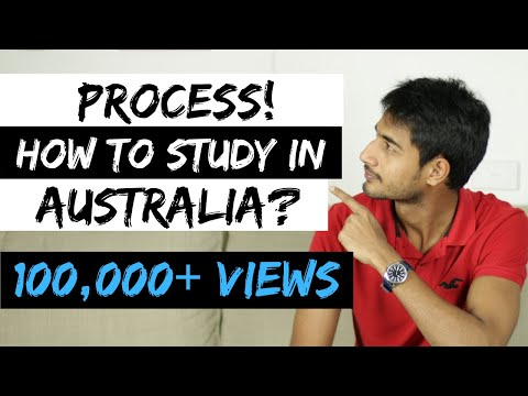 PROCESS | HOW TO STUDY IN AUSTRALIA | International Students In Australia