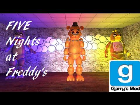 скачать карту для гаррис мод 14 Five Nights At Freddy S 1 - фото 5