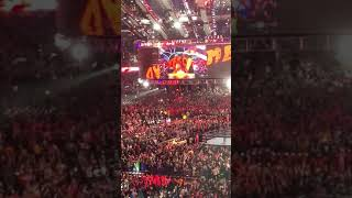 Wrestlemania 34, Seth Rollins, The Miz, And Finn Balor Entrance