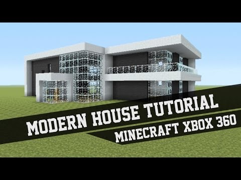 large modern house tutorial minecraft xbox 360 3