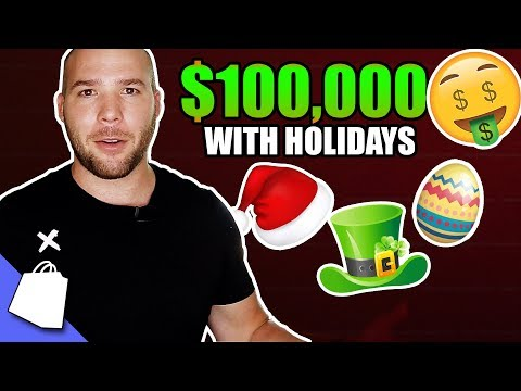 These 10+ Holidays Earn Me $100,000+ Every Year - Print on Demand Holidays