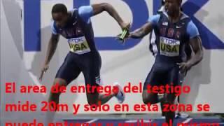 pruebas de pista y campo de atletismo