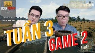 PEWPEW PUBG - CUSTOMGAME TUẦN 3 :ĐẠI CHIẾN Ở POCHINKI  | GAME 2