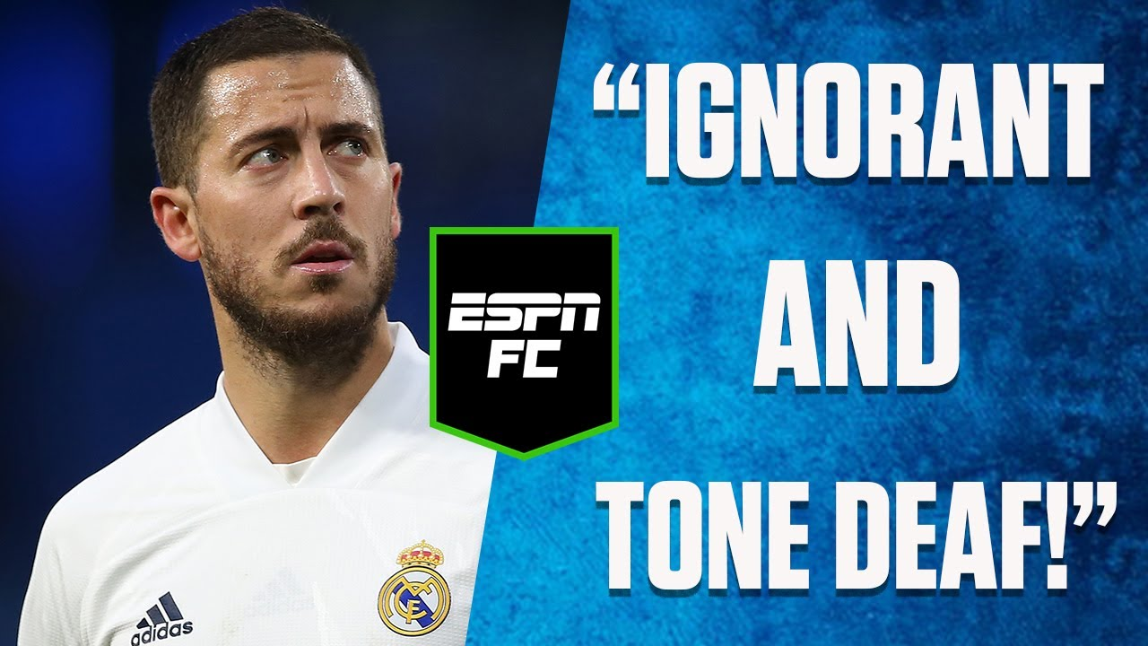 Eden Hazard did WHAT after Real Madrid's loss?! 😮| #Shorts | ESPN FC