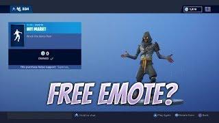 Free Emote? Fortnite Item Shop Reset | November 23rd