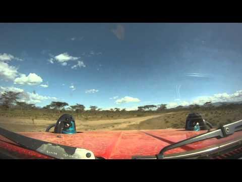 Kenya USN Rally Raid 500 with car 64