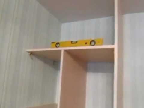 видео: шкаф купе сделай сам 1500 ящики