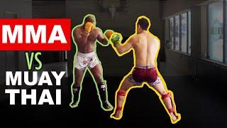 145lb Pro MMA Fighter vs 200lb Muay Thai/MMA Fighter Turned Bodybuilder
