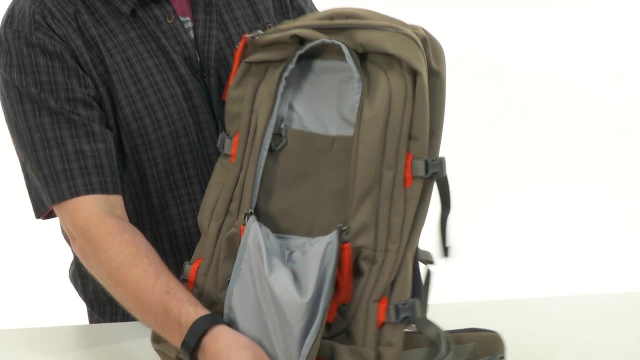Jack Wolfskin Rail Rider Pack Rucksack Burnt Olive 40 L
