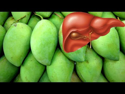 Good for the Liver and Health Benefits of Green Mango.