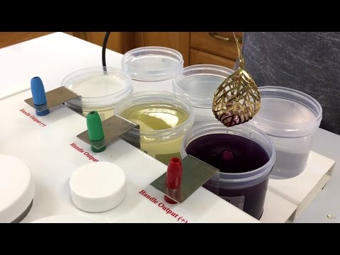 Gold Plating Kit - Dip Plating Accessory for the Universal Plater Kit