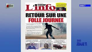 Revue de presse de ce 23 Juin 2021 avec Mamadou Mouhamed Ndiaye
