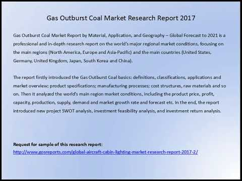 Gas Outburst Coal Market Research Report 2017