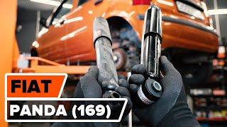 Montering Glødelampe Nummerskiltlys FIAT PANDA: videoopplæring