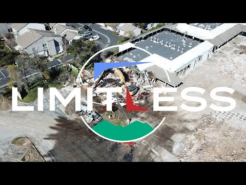 Limitless - Charter Square is demolished so fly Mt Tam