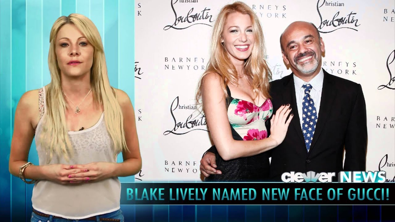 d4717c43c31 Blake Lively - New Face Of Gucci Perfume - YouTube
