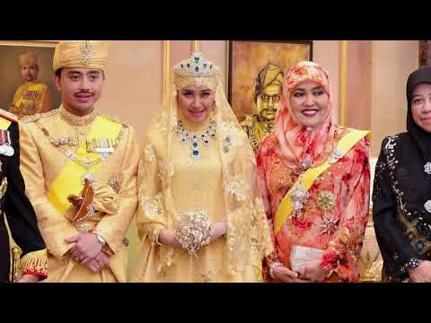 Роскошная свадьба будущего султана Брунея