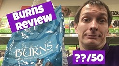 Burns Dry Dog Food Review out of 50