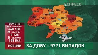 Коронавірус в Украі ні статистика за 6 листопада