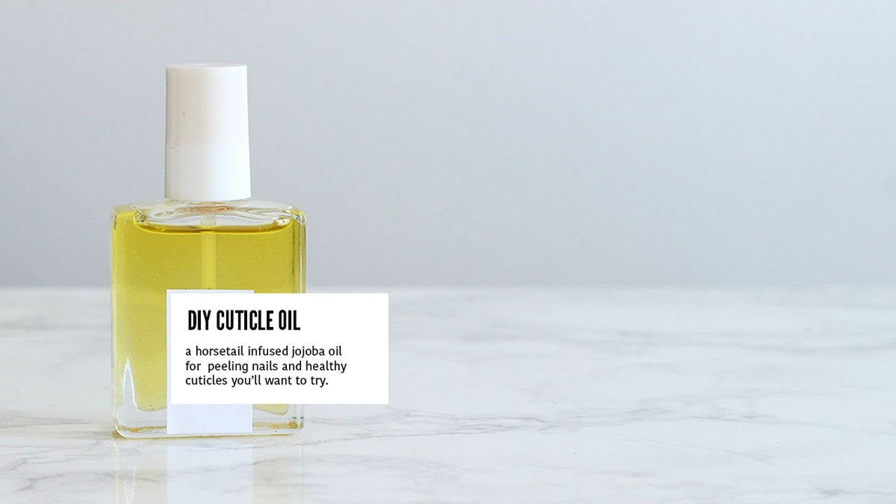 Diy Cuticle Oil For Weak Ling Nails