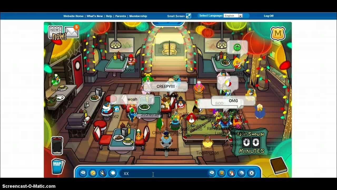 how to meet mack and brady in club penguin