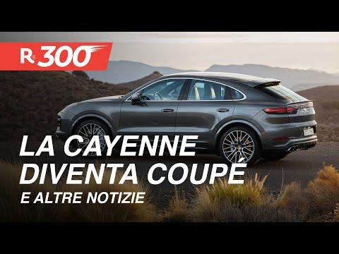 Porsche Cayenne Coupé, il successo dei SUV Audi, di Skoda e altre news auto e moto - RED300 ep.25