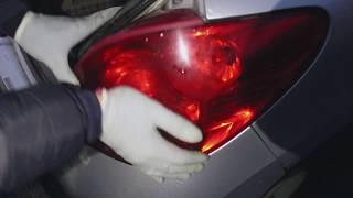 Пежо 207 #4 Ремонт электрики заднего фонаря
