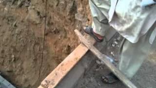 بناء الخزان