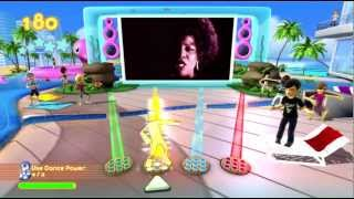 Dance Paradise 720P gameplay Gloria Gaynor (I Will Survive) Xbox 360 Kinect