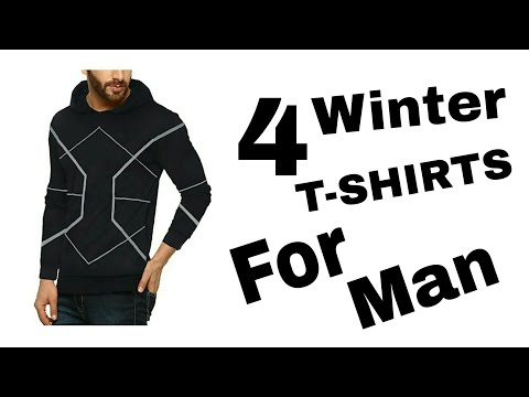 4 WINTER T-SHIRTS FOR INDIAN MAN || FASHION ABOUT MAN || BY PALAS JADAV