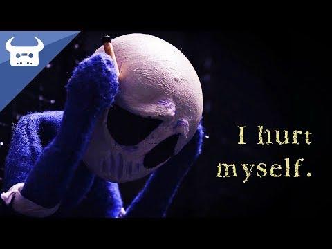 I hurt myself.