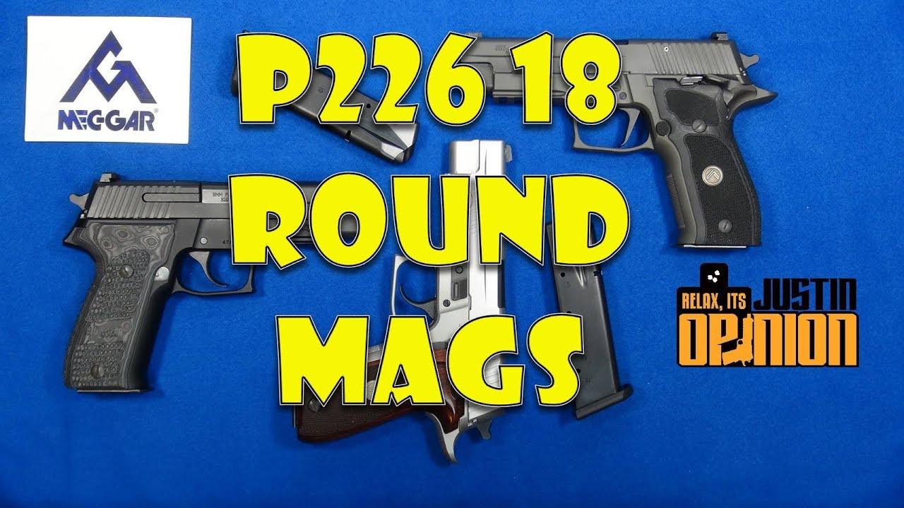 MEC-GAR 18-Round Magazines for SIG P226