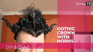 DIY: Gothic crown with horns