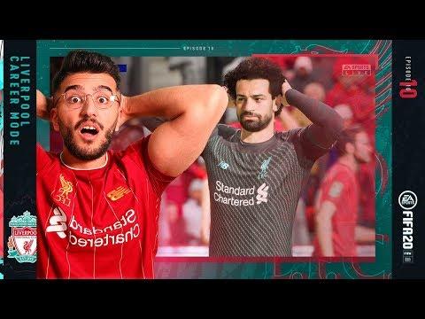 DRAMATIC FINISH IN THE LFC vs MAN UTD DERBY! - FIFA 20 LIVERPOOL CAREER MODE #10